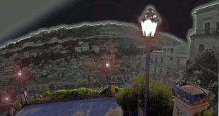 luci nella scalinata di San Giorgio