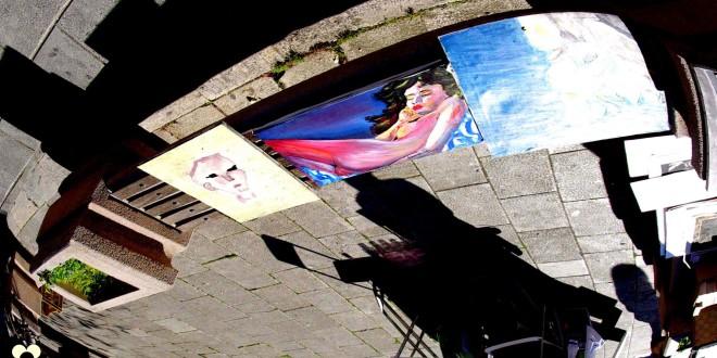 Modica, quadri al mercatino delle pulci